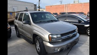 2002 Chevrolet TrailBlazer 4dr 2WD LS (Houston , Texas)