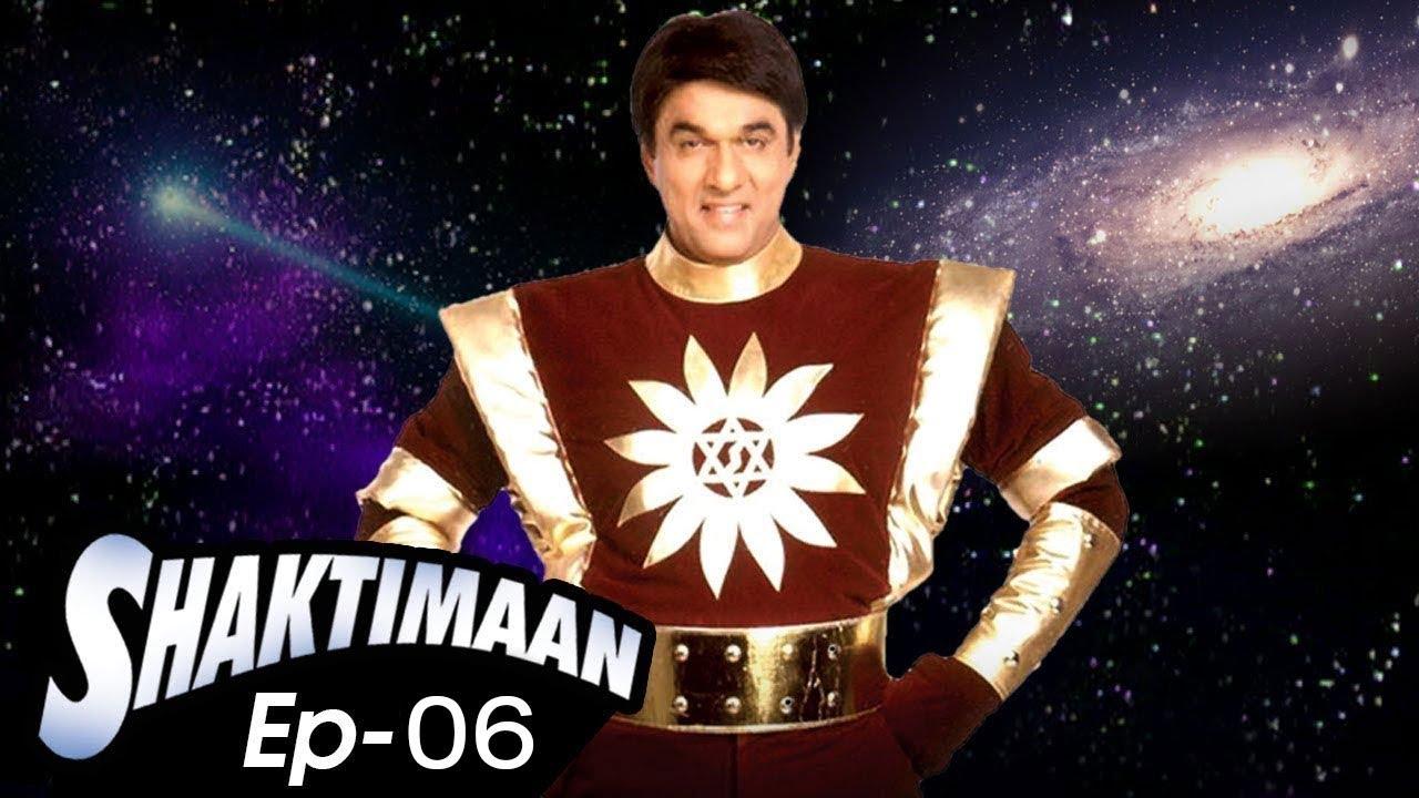 Download शक्तिमान (Shaktimaan) - Episode 6 - Live Premiere - Old Doordarshan Serial
