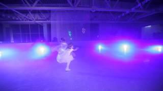 Свадебные платья на льду. Салон Айвори Пенза.
