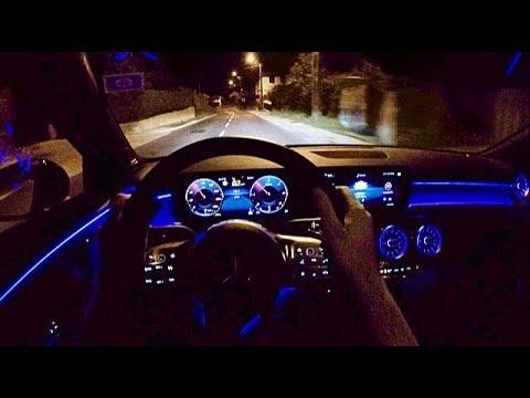 Mercedes A Class 2018 Crazy Ambient Lighting Pov Night
