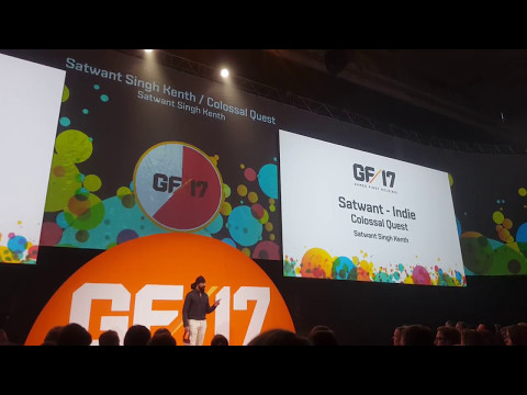 Games First Helsinki 2017 - Colossal Quest Pitch