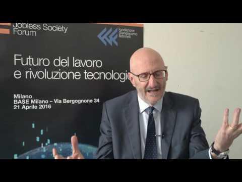 Jobless Society Forum | Jobless Society tra utopia e distopia | Francesco Caio