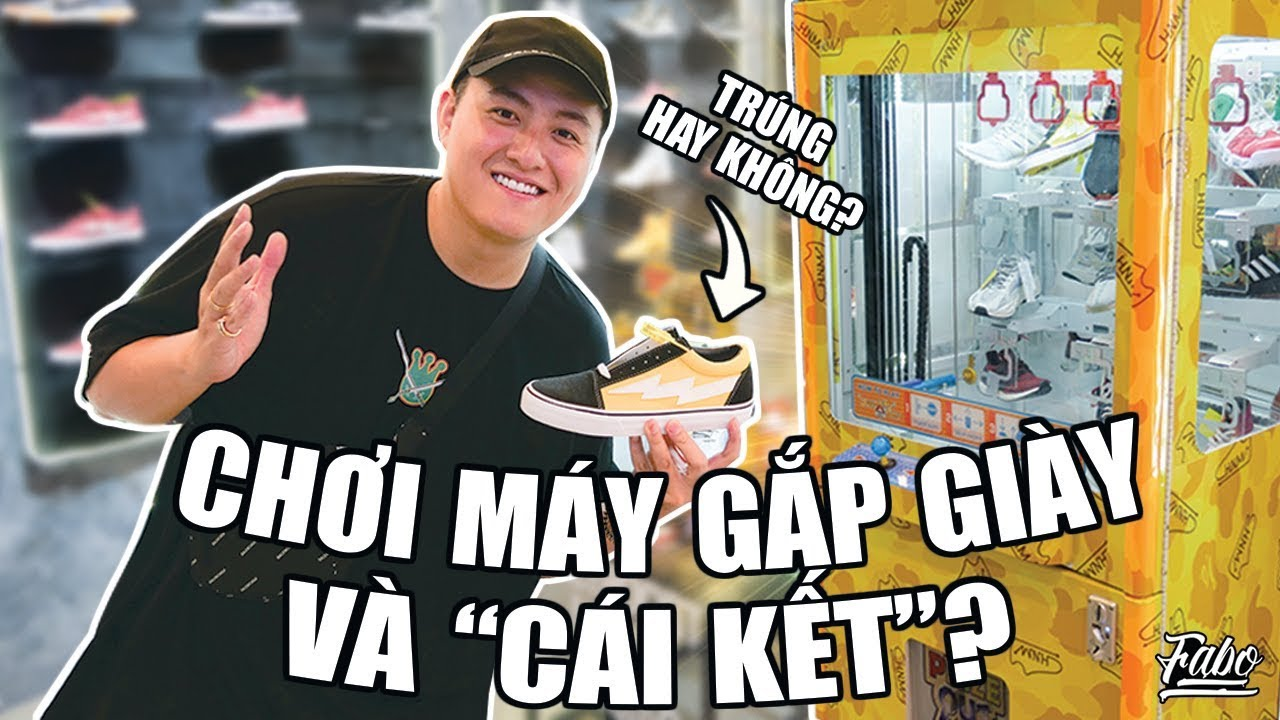 Chơi Máy Gắp Giày Và Cái Kết? ( Human Race 300 Đôi Trên Thế Giới/ U23 Việt Nam Bearbrick…)