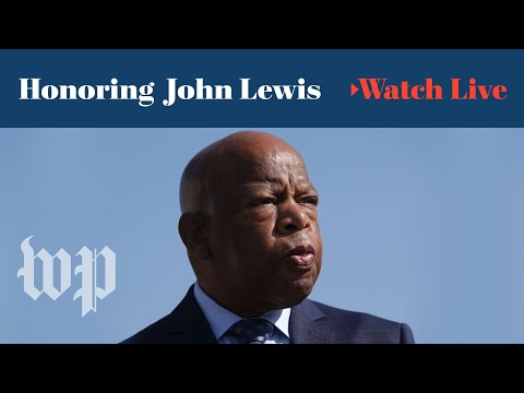 rep.-john-lewis's-public-viewing-at-the-u.s.-capitol---day-1-(full-live-stream)