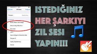 Iphoneda Şarkıyı Zil Sesi Yapma JAILBREAKSIZ
