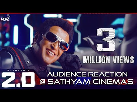 2.0 Teaser - Audience Reaction @ Sathyam Cinemas | Rajinikanth | Akshay Kumar | Shankar