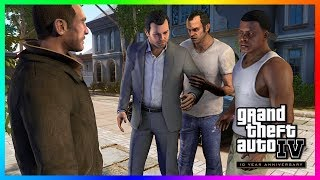 Grand Theft Auto IV 10 Years Later! (GTA 4 10th Anniversary)
