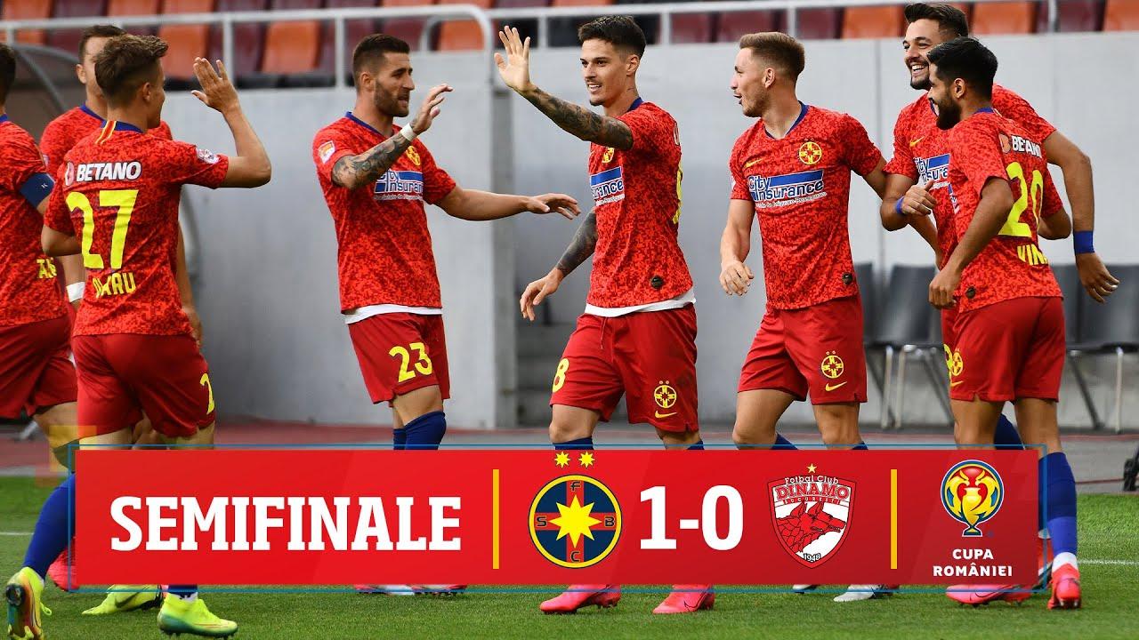 Cupa României: FCSB - Dinamo 1-0