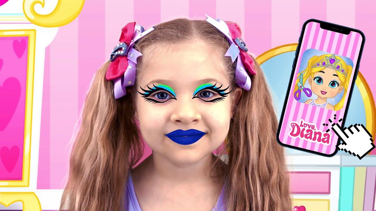 ديانا والحب ، تلبيس ديانا - لعبة جديدة للأطفال العاب بنات