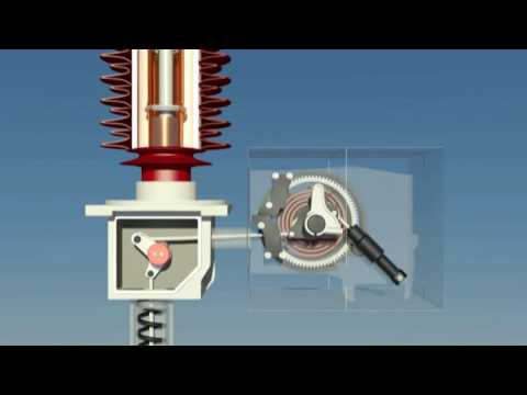 SF6 Circuit Breaker Working Principle - YouTube