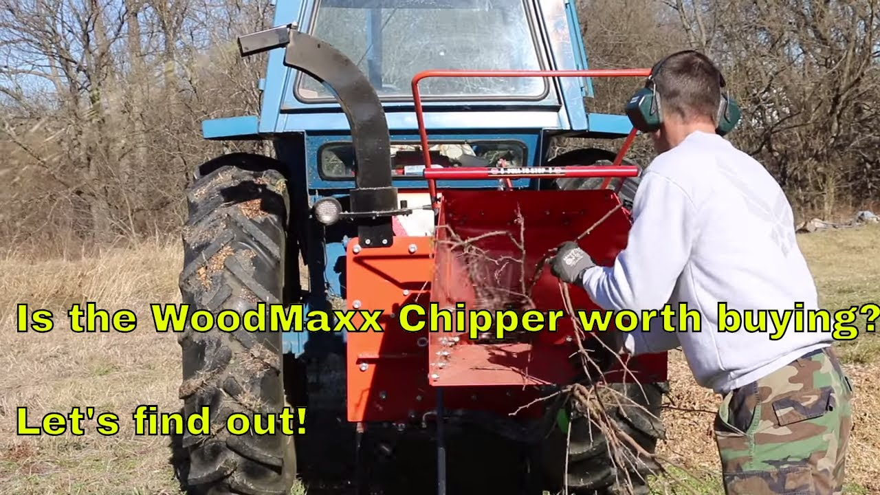WoodMaxx WM-8H Review | Best PTO Wood Chipper — Commercial-Grade