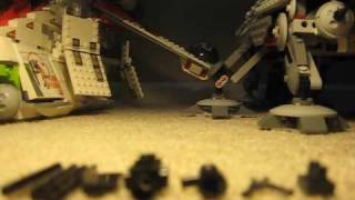 How to make a lego M1919 Browning