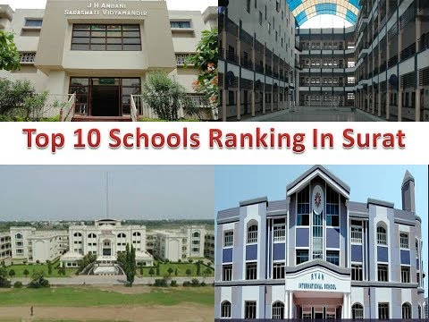 Top 10 Schools Ranking In Surat
