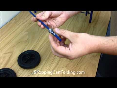 Basic Folding Shopping Cart Instructional Video