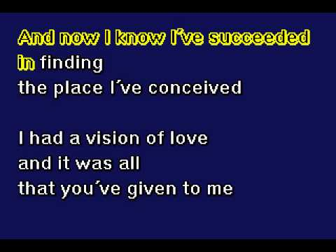 Mariah Carey - Vision Of Love - Karaoke