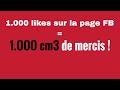 1.000 LIKES SUR FB ► REJOIGNEZ-NOUS !