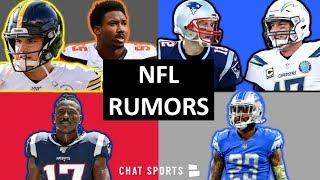NFL Rumors: Philip Rivers Colts, Tom Brady Giants, Darius Slay Trade, Myles Garrett, Antonio Brown