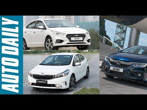 Chọn Kia Cerato SMT, Honda City 1.5Top hay Hyundai Accent? |AUTODAILY.VN|