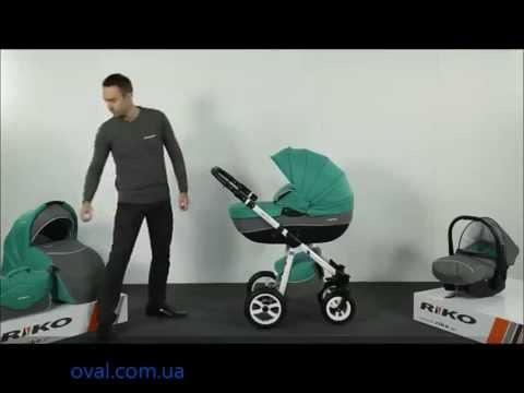 Детская универсальная коляска 2 в 1 Riko Nano Alu
