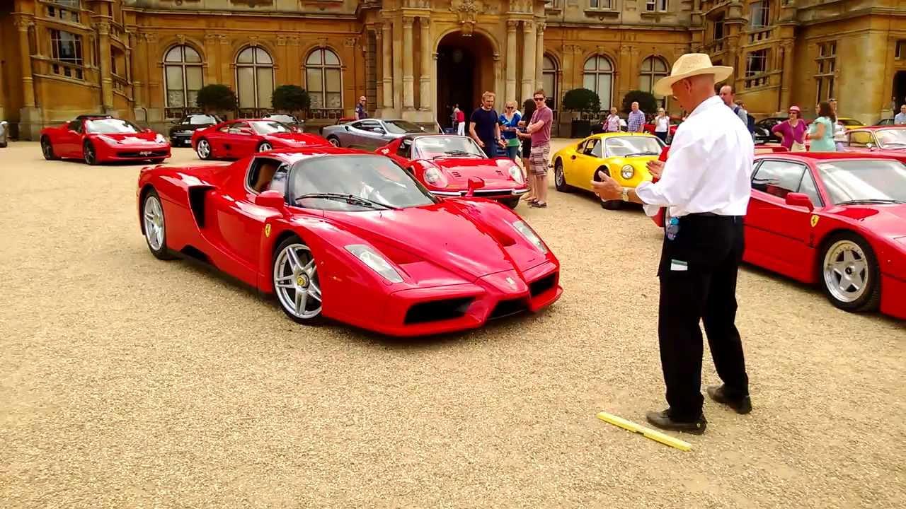 Ferrari Enzo arriving at Waddesdon Manor 29860692884e
