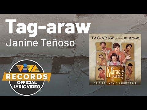Tag-araw - Janine Teñoso | Miracle In Cell No.7 OST [Official Lyric Video]