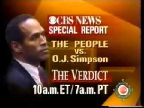 THE O J  SIMPSON TRIAL  THE VERDICT EXTENDED COVERAGE