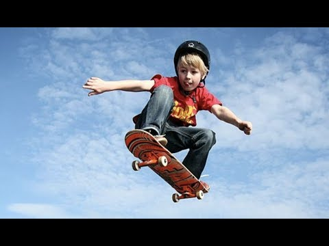5 REASONS TO LET YOUR KID SKATEBOARD.