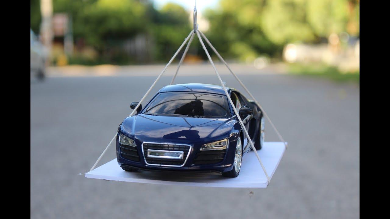 make a Crane - car lifting crane - YouTube