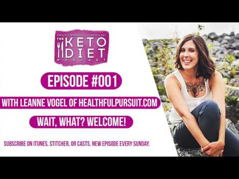 #001 The Keto Diet Podcast: Wait, What? Welcome!
