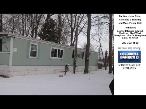 230 WELCH, Houghton Lake, MI Presented by Tom Bailey.