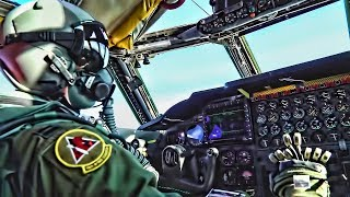 B-52 Takeoff/Landing • Cockpit & Combat Systems View