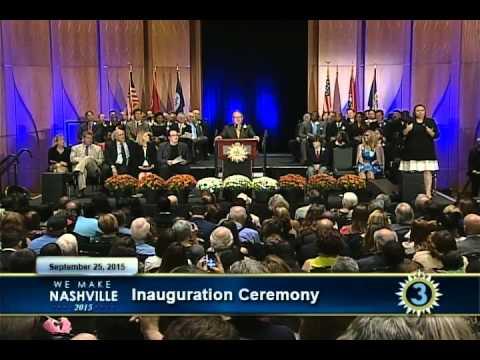 Nashville Inauguration Ceremony