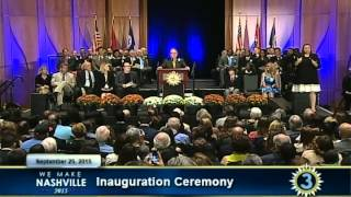 Nashville Inauguration Ceremony