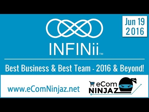 INFINii and TeamNinjaz Best Online Business Opportunity 2016 No Recruiting to Earn