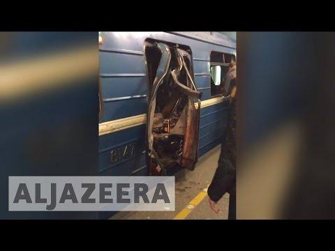 Russia: Deadly blast rocks St. Petersburg metro
