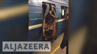 Russia: Deadly blast rocks St. Petersburg metro