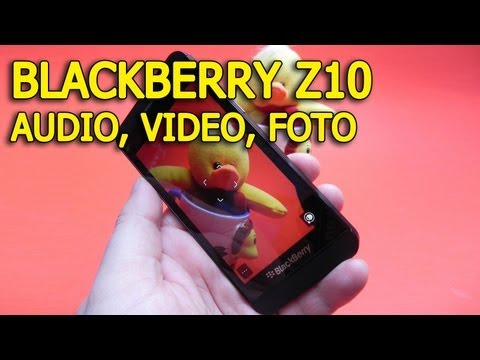 BlackBerry Z10 multimedia (audio, video si foto) - Mobilissimo.ro