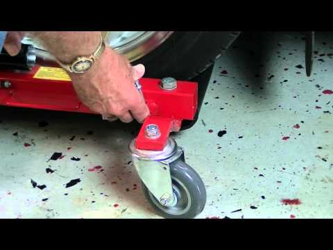 How To Use Corvette Hydraulic Positioning Jacks