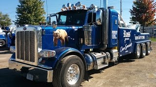 Take a close look at a heavy Wrecker Truck