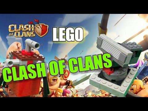 Lego clash of clans buildings