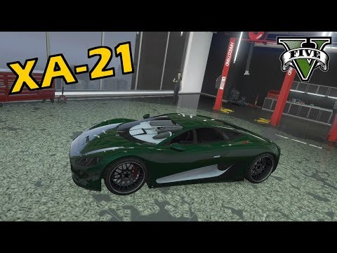 GTA V - NEW Ocelot XA-21 (Car Showcase)