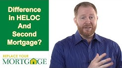 What is the Difference Between a Home Equity Line of Credit (HELOC) and a Second Mortgage?