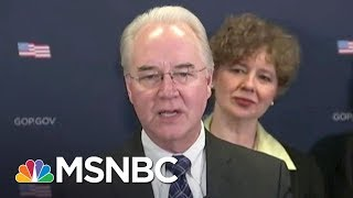 The Real Reason Tom Price Resigned | The Last Word | MSNBC