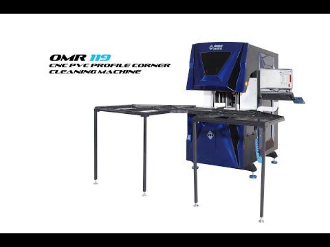 OMR 119 CNC PVC Profile Corner Cleaning Machine