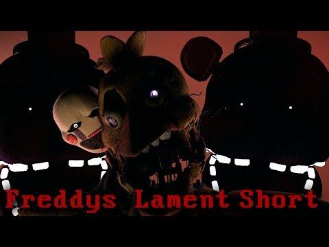 [FNAF\SFM] Freddy's Lament Short