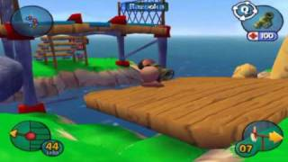 Worms 3D -Gameplay 1-