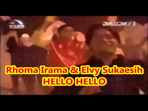 Rhoma Irama & Elvy Sukaesih -- HELLO HELLO -- Musik Soneta Group -- 1,035