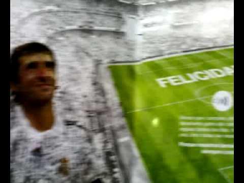 Felicitacion Cumpleanos Real Madrid Youtube