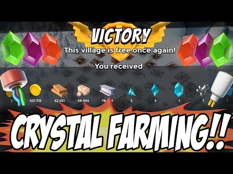 INSANE CRYSTAL & PROTOTYPE MODULE FARMING!! | Boom Beach