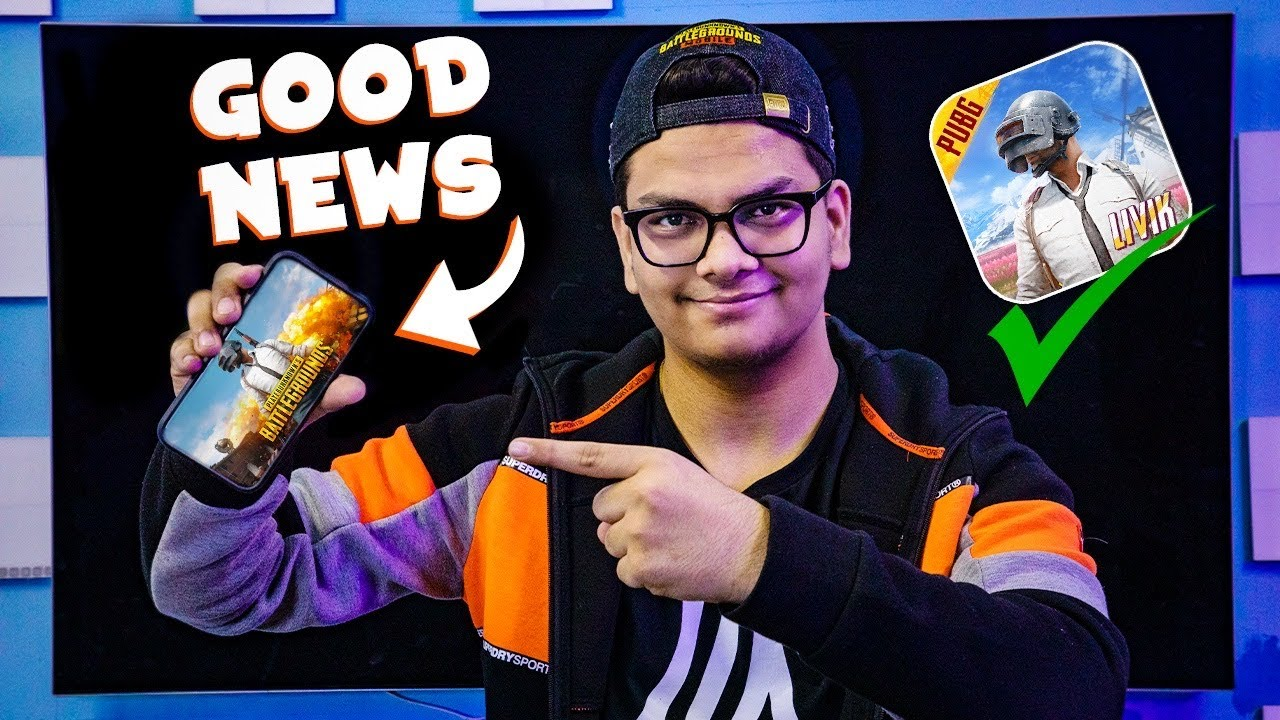 Finally Good News For PUBG MOBILE Players | Official |